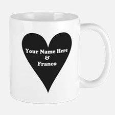 Your Name and Franco Mugs