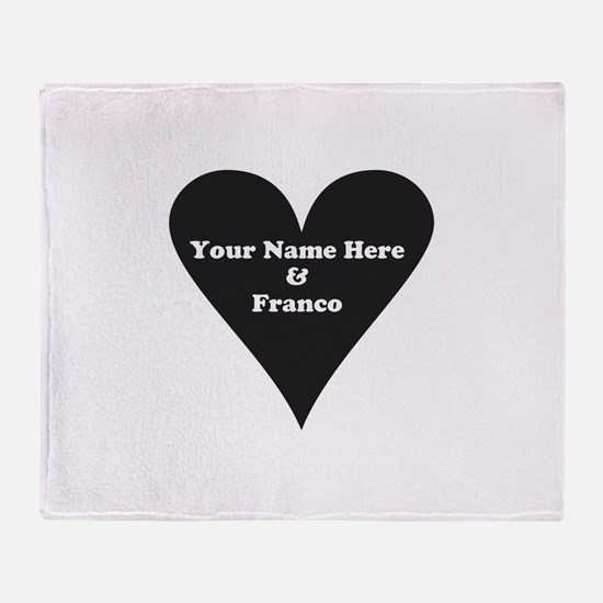 Your Name and Franco Throw Blanket