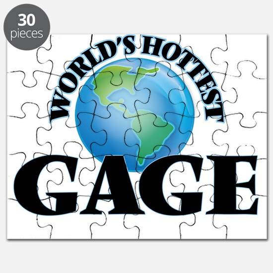 World's Hottest Gage Puzzle
