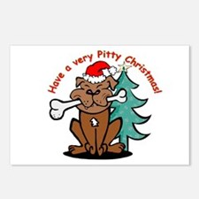 """Holiday """"Pitty"""" Postcards (8)"""