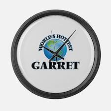 World's Hottest Garret Large Wall Clock