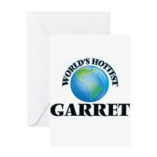 World's Hottest Garret Greeting Cards