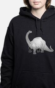 Brachiosaurus Women's Hooded Sweatshirt