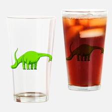 Brachiosaurus Drinking Glass