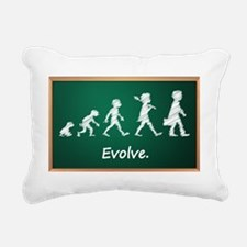 Evolution Rectangular Canvas Pillow