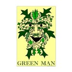 Green Man 11x17 inch poster