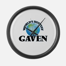 World's Hottest Gaven Large Wall Clock