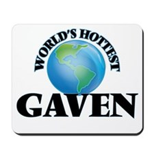 World's Hottest Gaven Mousepad