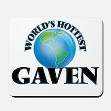World's Hottest Gaven Mousepad