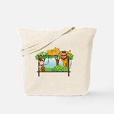 various animals  Tote Bag