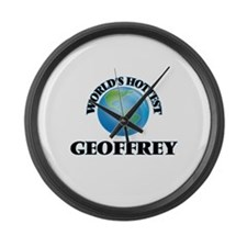 World's Hottest Geoffrey Large Wall Clock