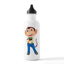 Monkey man Water Bottle
