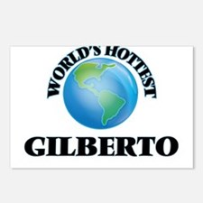 World's Hottest Gilberto Postcards (Package of 8)