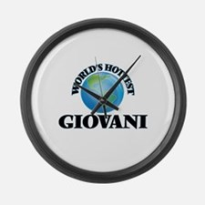 World's Hottest Giovani Large Wall Clock