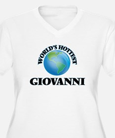 World's Hottest Giovanni Plus Size T-Shirt