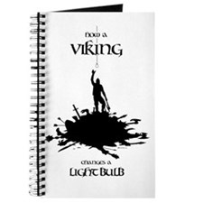 Viking Changing A Lightbulb Journal