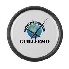 World's Hottest Guillermo Large Wall Clock