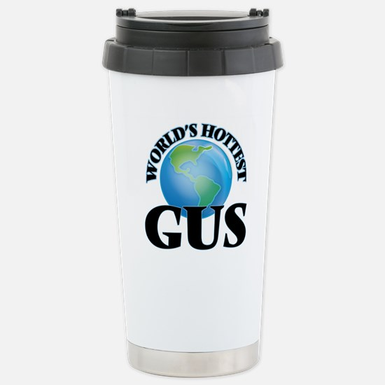 World's Hottest Gus Stainless Steel Travel Mug