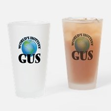 World's Hottest Gus Drinking Glass