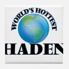 World's Hottest Haden Tile Coaster