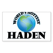 World's Hottest Haden Decal
