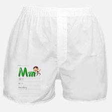 Alphabet handwriting series Boxer Shorts