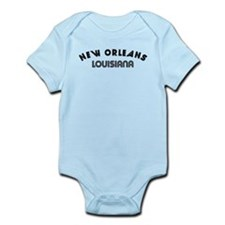 New Orleans Louisiana Body Suit