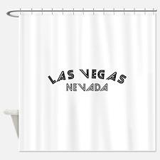 Las Vegas Nevada Shower Curtain