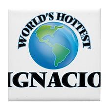 World's Hottest Ignacio Tile Coaster