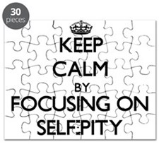 Keep Calm by focusing on Self-Pity Puzzle