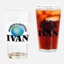 World's Hottest Ivan Drinking Glass