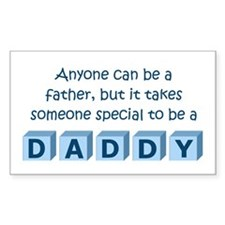 Daddy Rectangle Decal