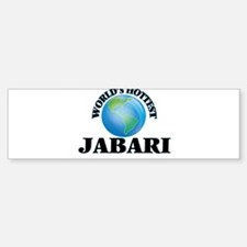 World's Hottest Jabari Bumper Bumper Bumper Sticker