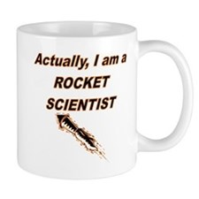 Actually I Am A Rocket Scientist Mugs