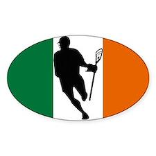 Lacrosse IRock Ireland Oval Sticker