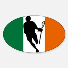 Lacrosse IRock Ireland Oval Decal