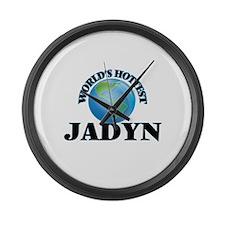 World's Hottest Jadyn Large Wall Clock