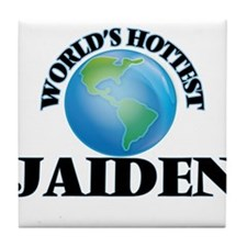 World's Hottest Jaiden Tile Coaster