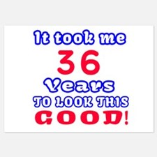36 Birthday Designs Invitations