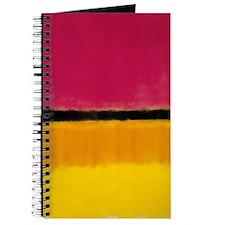 ROTHKO YELLOW BLACK MAGENTA Journal