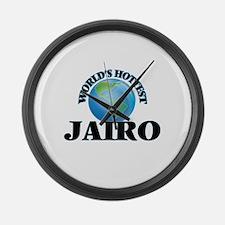 World's Hottest Jairo Large Wall Clock