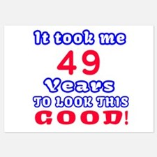 49 Birthday Designs Invitations