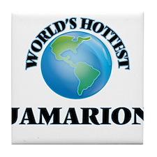 World's Hottest Jamarion Tile Coaster