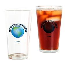 World's Hottest Jamel Drinking Glass