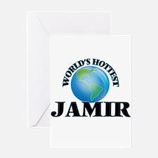 World's Hottest Jamir Greeting Cards