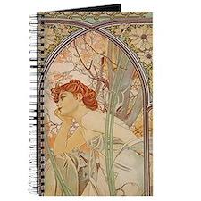 Mucha - Art Nouveau In The Garden Journal