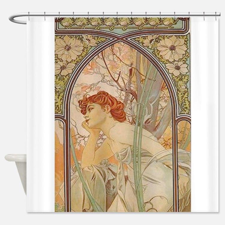 Bathroom Art Nouveau: Art Nouveau Bathroom Accessories & Decor