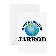World's Hottest Jarrod Greeting Cards