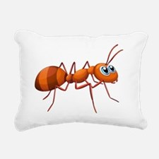 An ant Rectangular Canvas Pillow