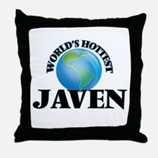 World's Hottest Javen Throw Pillow